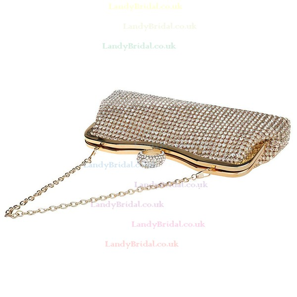 Silver Crystal/ Rhinestone Wedding Crystal/ Rhinestone Handbags