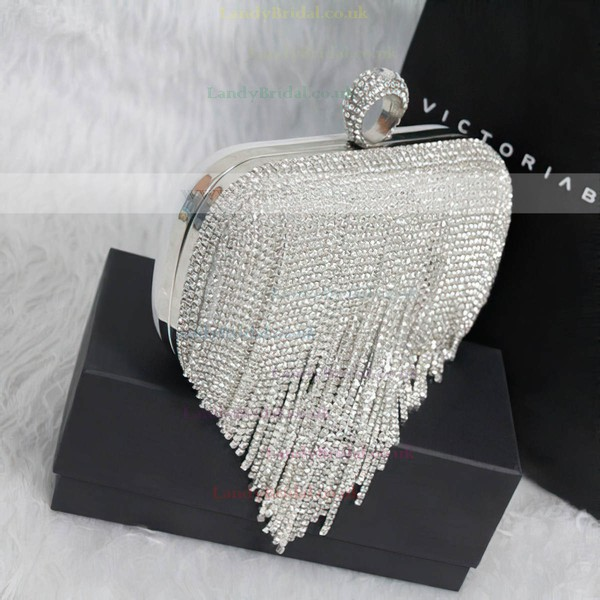 Silver Crystal/ Rhinestone Wedding Crystal/ Rhinestone Handbags