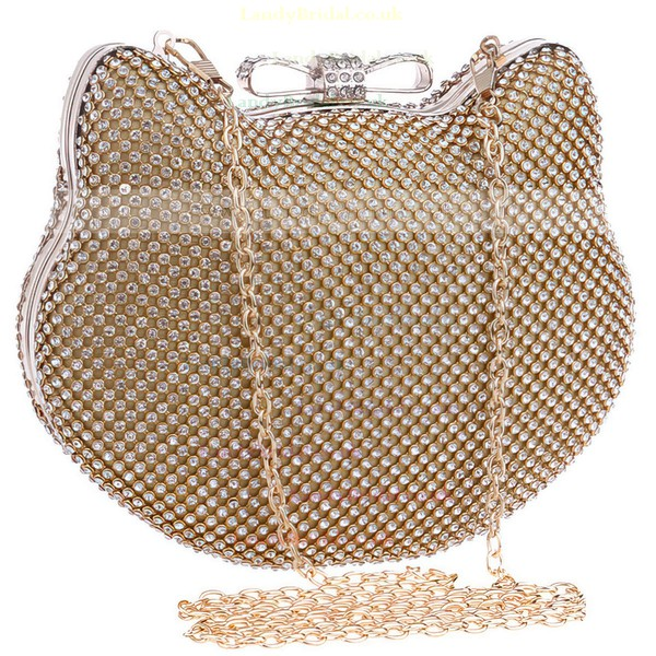 Silver Crystal/ Rhinestone Ceremony&Party Crystal/ Rhinestone Handbags