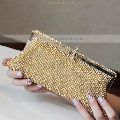 Silver Crystal/ Rhinestone Wedding Crystal/ Rhinestone Handbags #LDB03160011