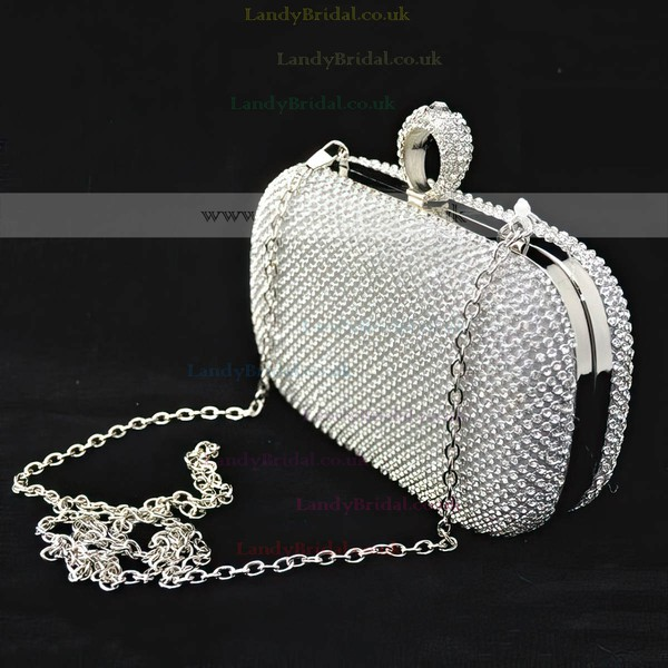 Silver Crystal/ Rhinestone Wedding Rhinestone Handbags