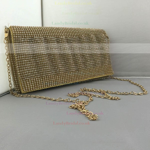Gold Crystal/ Rhinestone Wedding Crystal/ Rhinestone Handbags