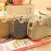 Silver Rhinestone Ceremony&Party Crystal/ Rhinestone Handbags #LDB03160017
