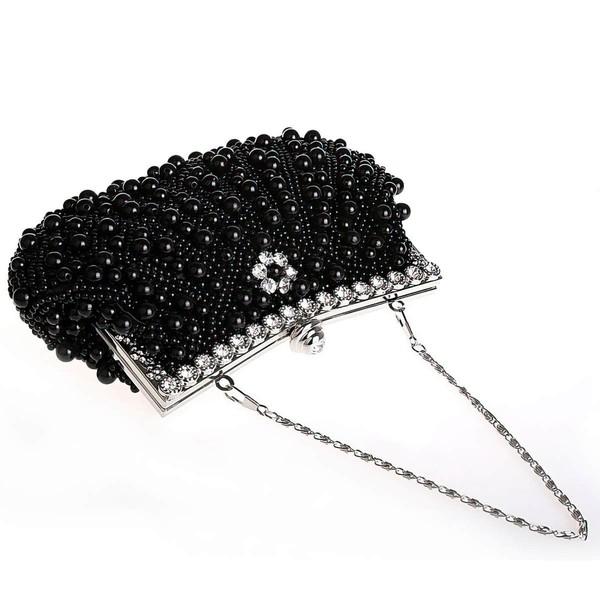 Black Pearl Ceremony&Party Pearl Handbags