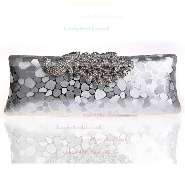 Black Crystal/ Rhinestone Wedding Rhinestone Handbags