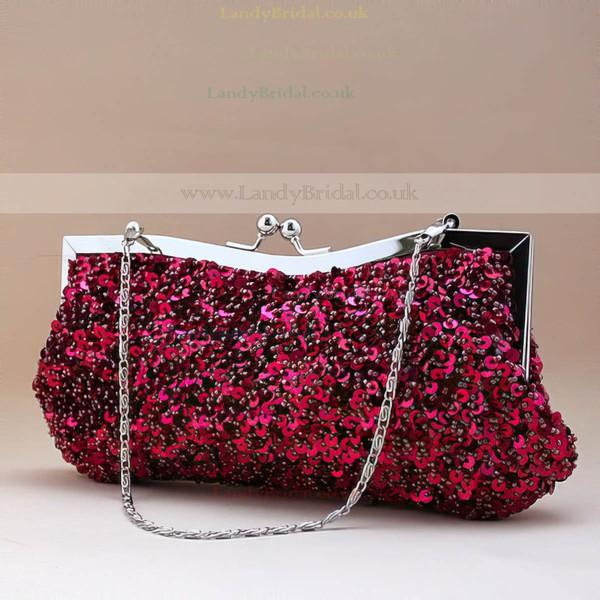 Black Sequin Ceremony&Party Sequin Handbags