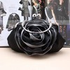 Black Silk Wedding Metal Handbags #LDB03160027
