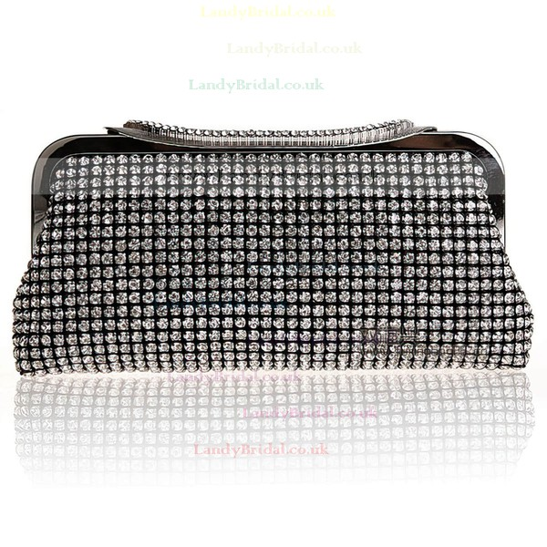 Black Crystal/ Rhinestone Wedding Crystal/ Rhinestone Handbags