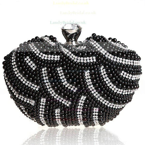 Black Pearl Wedding Pearl Handbags