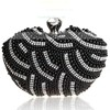 Black Pearl Wedding Pearl Handbags #LDB03160033