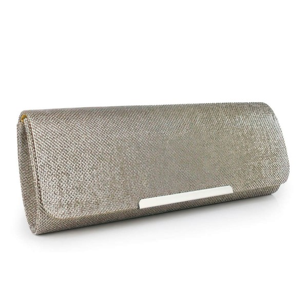 Gold Metal Ceremony&Party Sequin Handbags #LDB03160047