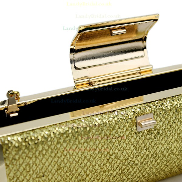 Gold Metal Ceremony&Party Beading Handbags