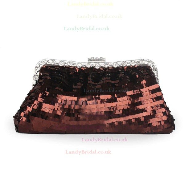 Black Sequin Ceremony&Party Crystal/ Rhinestone Handbags