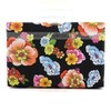 Black PU Ceremony&Party Floral Print Handbags #LDB03160066
