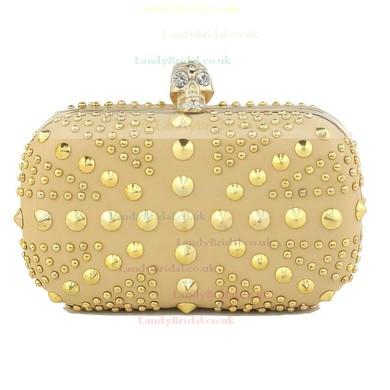 Black Silk Wedding Crystal/ Rhinestone Handbags #LDB03160081