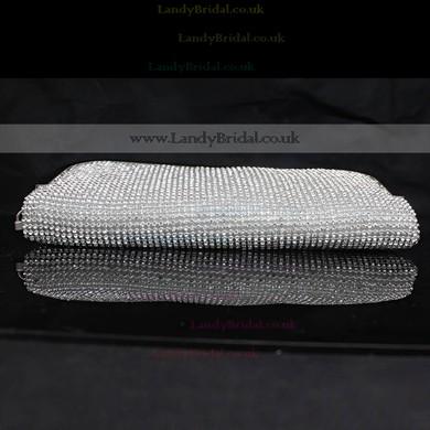 Silver Crystal/ Rhinestone Ceremony&Party Crystal/ Rhinestone Handbags #LDB03160088