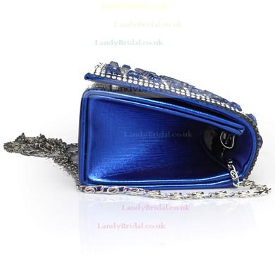 Black PU Wedding Crystal/ Rhinestone Handbags #LDB03160089