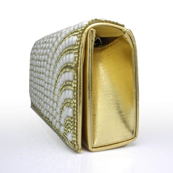 Black PU Wedding Crystal/ Rhinestone Handbags