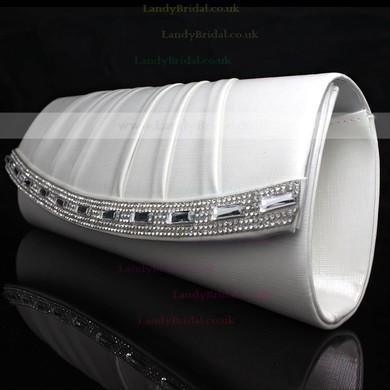 Black PU Wedding Crystal/ Rhinestone Handbags #LDB03160093