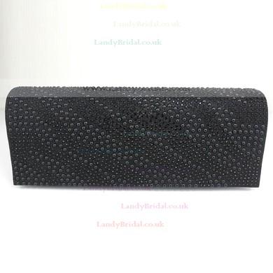 Black PU Wedding Imitation Pearl Handbags #LDB03160098