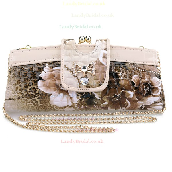 Black Silk Ceremony&Party Crystal/ Rhinestone Handbags