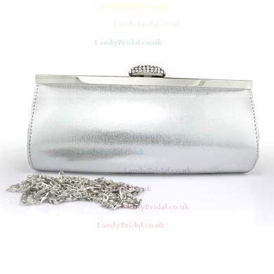 Black Silk Wedding Crystal/ Rhinestone Handbags #LDB03160103