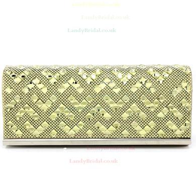 Black PU Wedding Crystal/ Rhinestone Handbags #LDB03160113