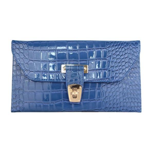 Silver PU Wedding Metal Handbags