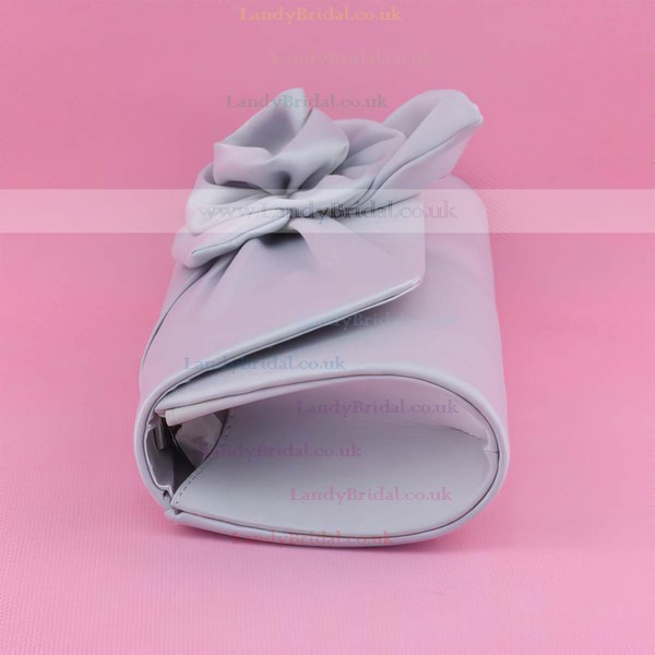 Silver Silk Wedding Flower Handbags