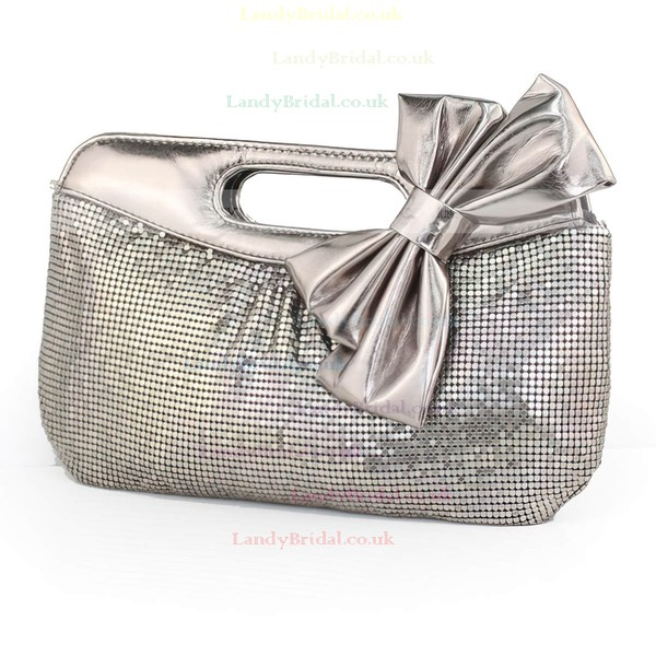Black Sequin Wedding Bowknot Handbags
