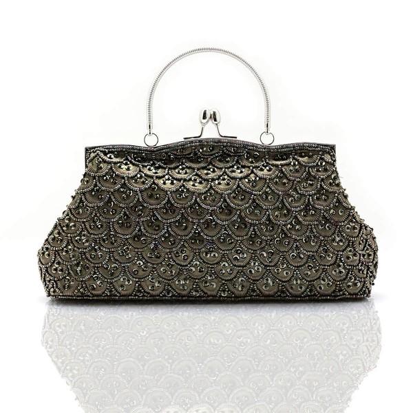 Black Pearl Ceremony & Party Pearl Handbags