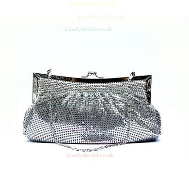 Black Aluminum Ceremony & Party Metal Handbags #LDB03160166