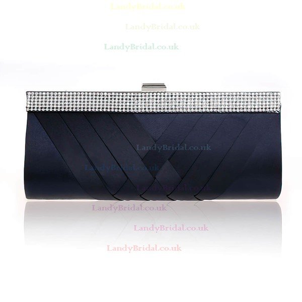 Black Silk Wedding Beading Handbags