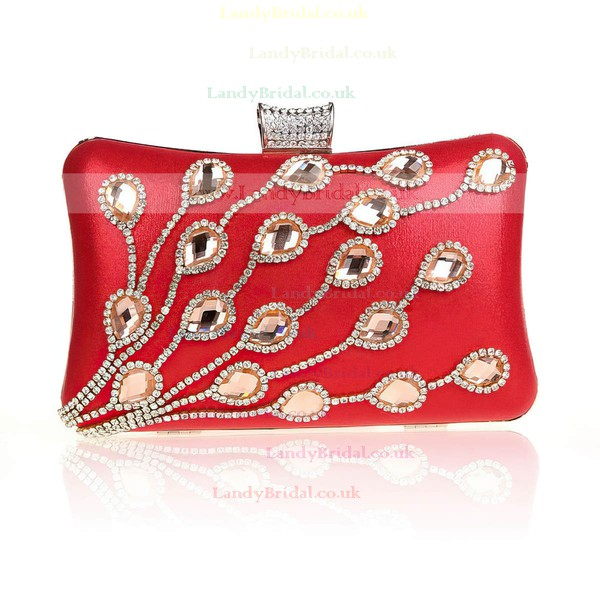 Black Sequin Ceremony & Party Crystal/ Rhinestone Handbags