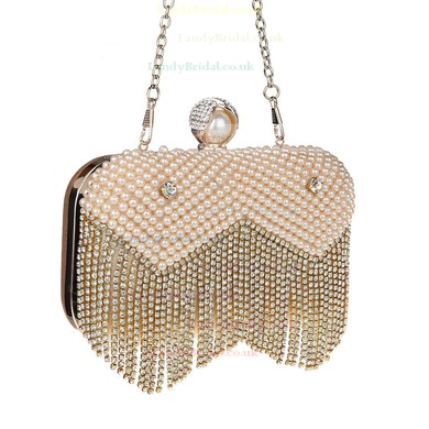 Black Pearl Ceremony & Party Pearl Handbags #LDB03160180