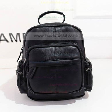 Black PU Casual & Shopping Handbags #LDB03160135