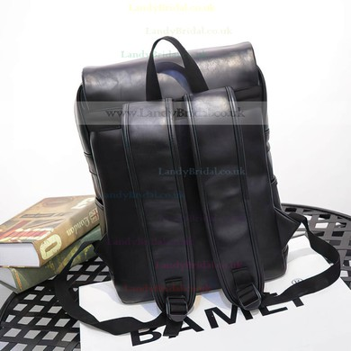 Black PU Office & Career Metal Handbags #LDB03160149