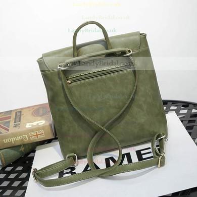 Black PU Casual & Shopping Handbags #LDB03160156