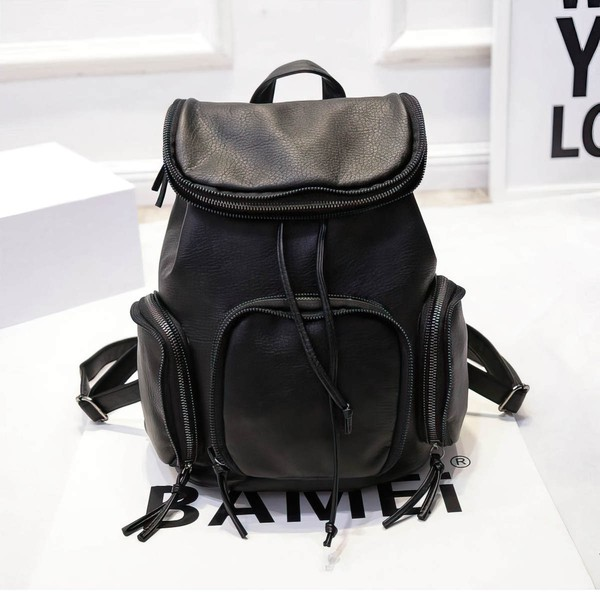 Black PU Office & Career Handbags #LDB03160158