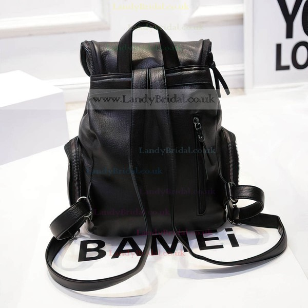 Black PU Office & Career Handbags