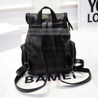 Black PU Office & Career Handbags #LDB03160158
