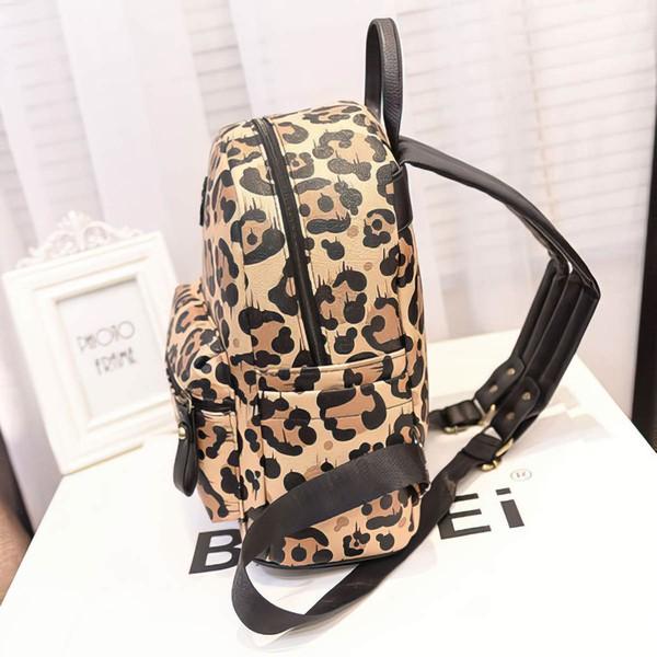 Leopard PU Office & Career Handbags