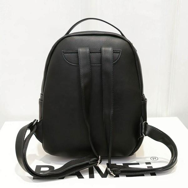 Multicolor PU Office & Career Rivet Handbags