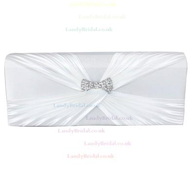 Black Silk Wedding Crystal/ Rhinestone Handbags #LDB03160201