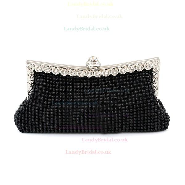 Black Crystal/ Rhinestone Wedding Crystal/ Rhinestone Handbags