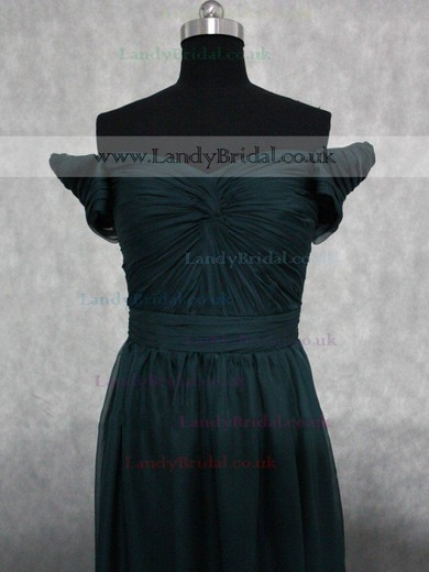 Sweetheart Green Cap Straps Chiffon with Criss Cross For Less Long Prom Dresses #LDB02017311