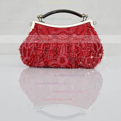 Black Pearl Wedding Sequin Handbags #LDB03160220