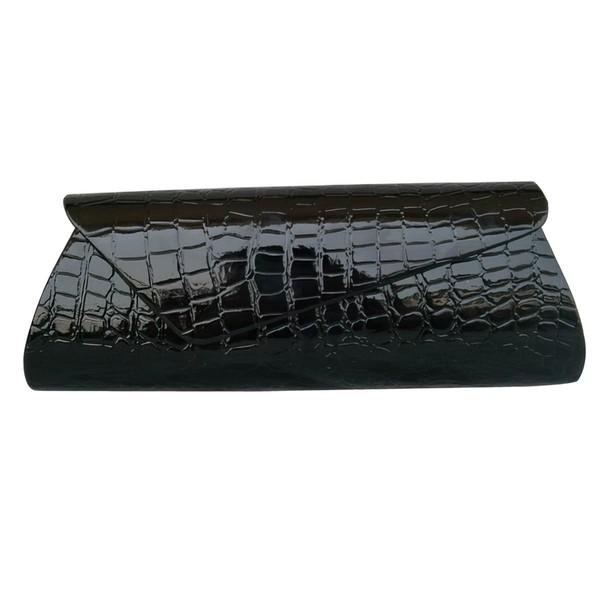 Black PU Wedding Handbags