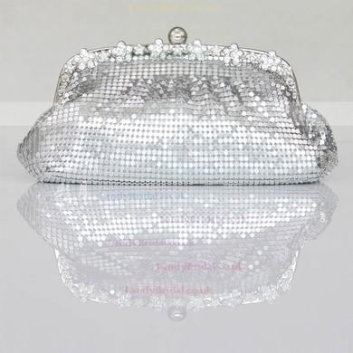 Black Sequin Wedding Crystal/ Rhinestone Handbags #LDB03160225