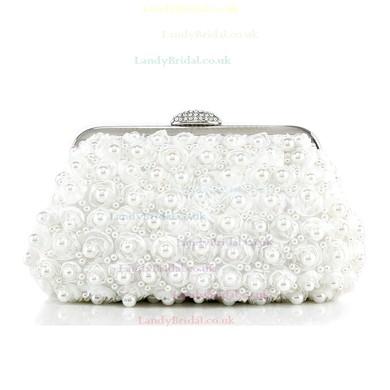 Black Pearl Wedding Pearl Handbags #LDB03160240